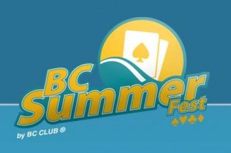 BC Summer Fest: Confira os Resultados dos Primeiros Eventos; Main Event Arranca nesta...