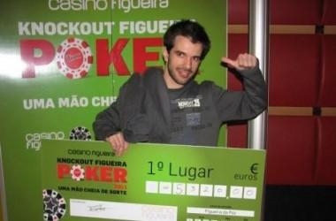 Emanuel Eman Jesus conquista Knockout Figueira Poker Tour #1!