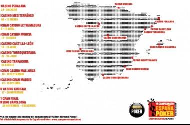 El VI Campeonato de España de Póker arranca el 24 de enero