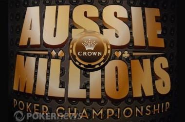 2011 Aussie Millions, Event #1: Den 1b a 1c je za námi