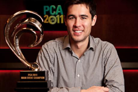 Egy fantasztikus dobás után Galen Hall nyerte a PCA főversenyét