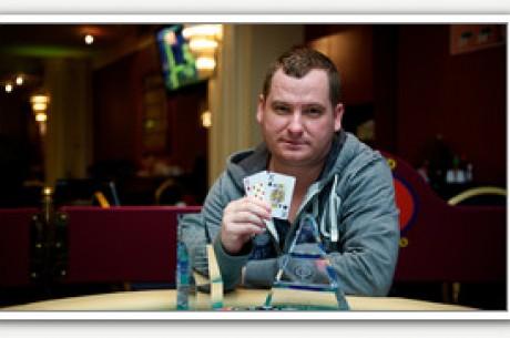 Skrinyár Gábor nyerte Bécsben a Paradise Poker Tourt