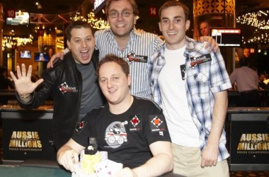 Richard Ashby Wins Event #5: $1,100 8 Game Mix at Aussie Millions