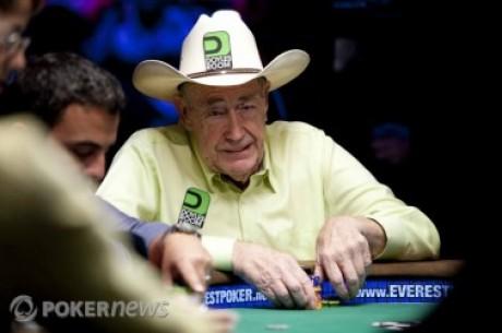 """A """"Texas Doyle"""" se le quedan pequeñas las partidas de poker de Las Vegas."""
