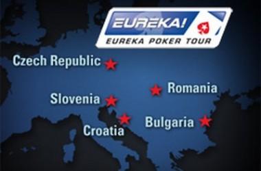Eureka Poker Tour - Nowy cykl turniejów na żywo, dla graczy z Europy Wschodniej Wschodniej