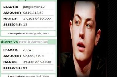 坊间传闻: DURRRR挑战赛最新消息,PA可能因为资金问题而提前退出。