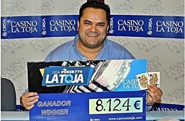 Luis Seijas, primer ganador de la Liga Poker770 de la Toja