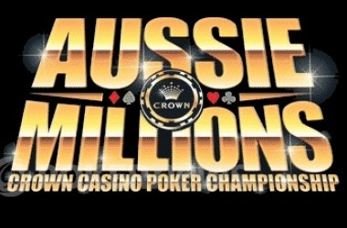2011 Aussie Millions Event #9 Day 1b: Rossiter Leads His Flight into Wednesday's Day 2