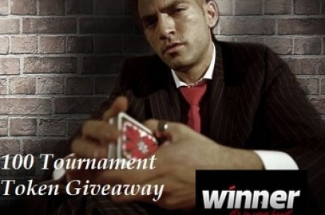 Exclusivo PokerNews - 100 Tournament Token Giveaway esta noite na Winner Poker