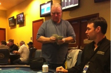 Russ Hamilton Heckled in Gulfstream Poker Room