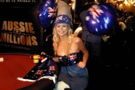 Около света с Лин Гилмартин: Aussie Millions 2011