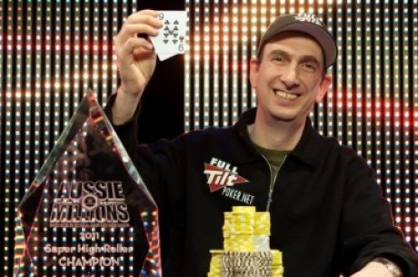Aussie Millions 250K 超级高额锦标赛的冠军是谁?!