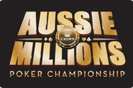 Aussie Millions, 현재 진행중인 파이널 테이블