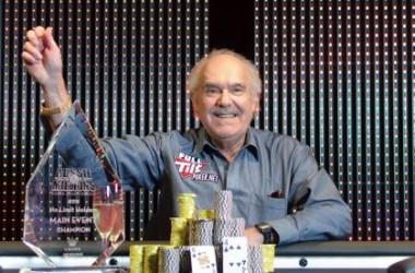 71-årige David Gorr Vinder Aussie Millions Main Event
