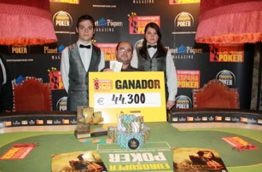Youcef Makrelouf gana el Campeonato de España de Poker 2011 en Peralada