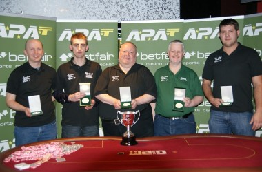 APAT UK Amateur Team Championship + Champion of Champions Results