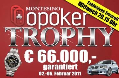 OPoker Trophy im Wiener Montesino