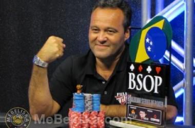 Marcelo Jensen Vence a Etapa do Rio do Janeiro do BSOP 2011