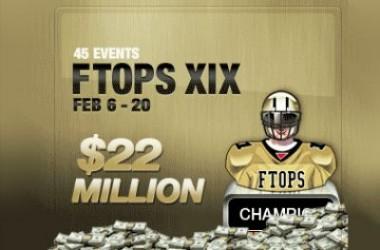FTOPS XIX ofrece 45 eventos que suman una bolsa de premios garantizada de 22.000.000$