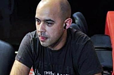 Rubén Barcala es el chipleader del Día 1B en la segunda parada de La Liga Poker 770 de La Toja