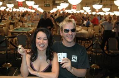 Niezbyt serio - gwiazdy grające w pokera