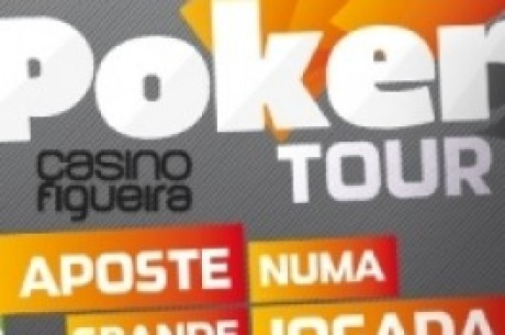 Rogério Camacho é o chipleader do Dia 1  do Knockout Figueira Poker Tour