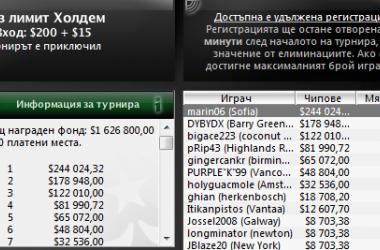 Българин спечели Sunday Million и $244К