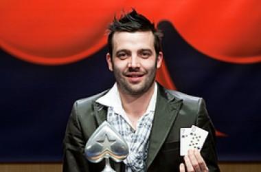 El gallego Ricardo Escobar se hace con el título del Estrellas Poker Tour de Madrid
