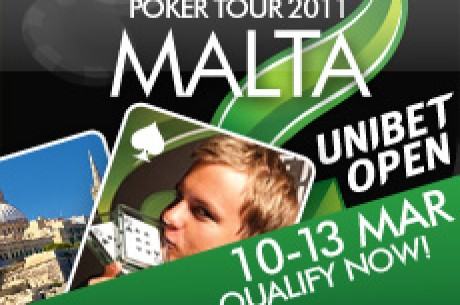 Kvalificer Dig Til Unibet Open Malta 10-13. marts
