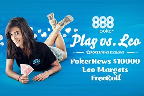 $5,000 Freerolls με τη Leo Margets Αποκλειστικά για το PokerNews