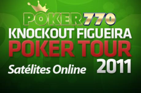 Os KO Super Satélites estão à tua espera na Poker 770