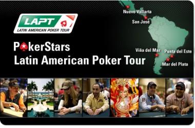 正在进行2011PokerStars的LAPT呢!