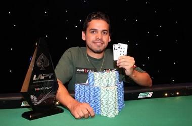 Алекс Манзано стал победителем главного турнира LAPT...