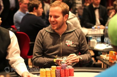 Termina el Día 2 del European Poker Tour de Copenhague: Tureniec es el chip leader