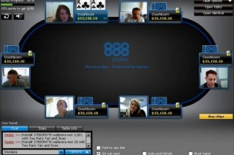To 888 Poker Ανακοινώνει Τραπέζια με Κάμερα