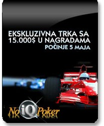 Race PokerNIKA.com@NoIQ Poker za Maj mesec