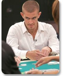 Gus Hansen  o NBC poker šampionatu