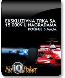 Race PokerNIKA.com@NoIQ Poker 25. Maj