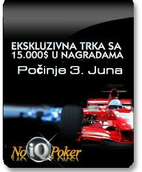 Race PokerNIKA.com@NoIQ Poker za Jun