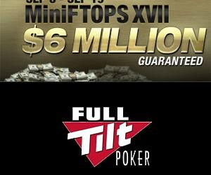 MiniFTOPS startuje danas na Full Tilt Pokeru