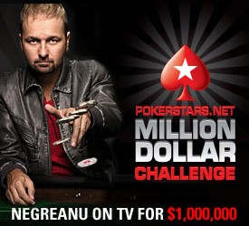 Nova PokerStars Million Dollar Challenge epizoda (VIDEO)