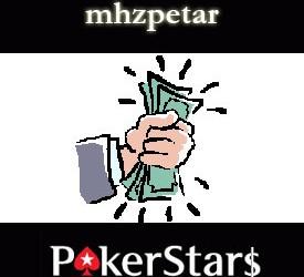 mhzpetar osvojio preko $1.300 na PokerStarsu