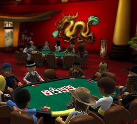 Poker na Xbox Live konzoli