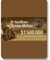 Sunday Million? Nije više... od sada je Sunday Million and a Half!!!