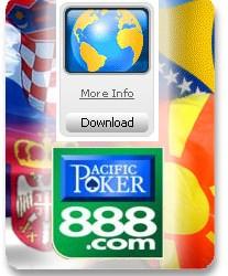 Predstavi svoju zemlju na prestižnom 888 Poker Open-u V  putem satelita za samo $1