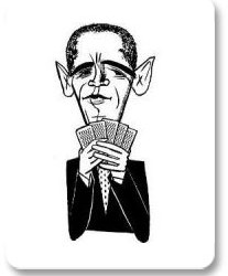 Najnovije ispitivanje/anketa pokazuje kome poker igrači daju prednost - Obama  vs. McCain