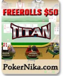 LIGA MESECA - Freeroll 50$ - Sreda 15. Oktobar na Titan poker-u