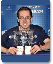 Ruairi Coy osvojio Internacionalni Poker Open u Dublin-u