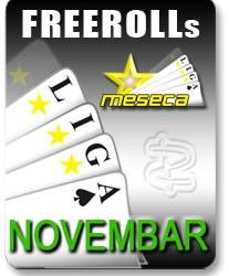 $50 Freeroll na TItan Pokeru - Sreda 5. - LIGA Meseca za Novembar