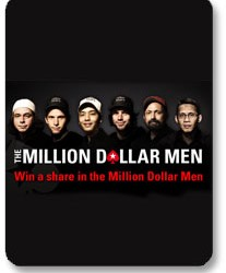 "PokerStars ""Million Dollar Men"" promocija"